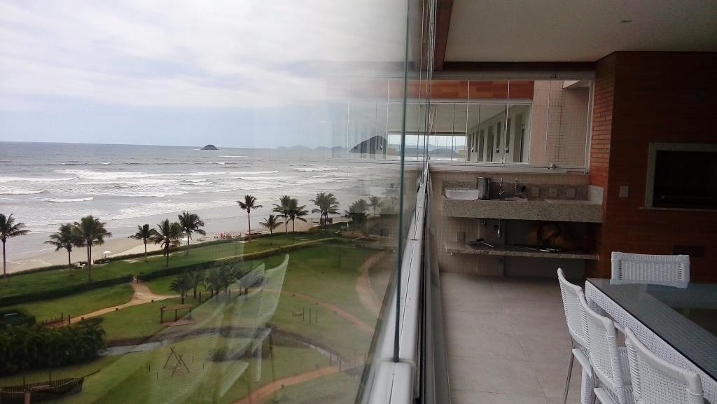 Luxuoso pé na areai com linda vista para o mar. EXCLUSIVO
