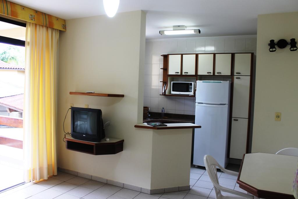 Flat - 2 dormitórios - 8 pessoas - Serviços inclusos
